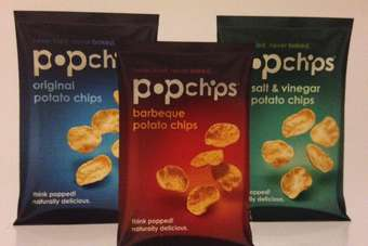 "The ""popped"" snacks category is becoming increasingly popular"