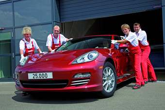 25,000th Panamera is US-bound