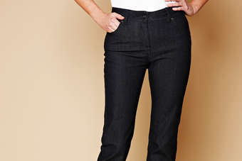 The Smooth and Shape jeans are designed to create a toned silhouette