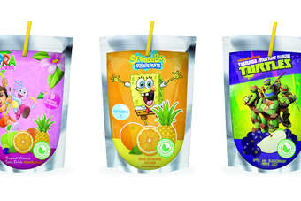 Click through to view Appy Food and Drinks Nickelodeon Juice Drink Pouches