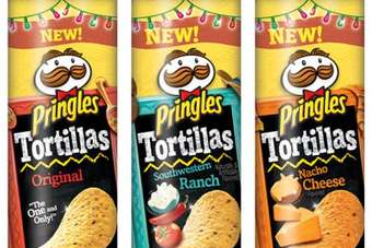 Pringles Tortillas to hit the shelves