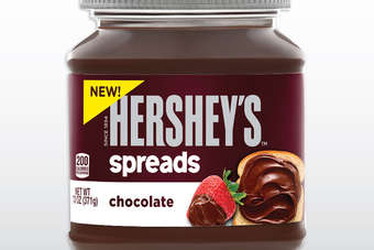 Traditionally famous for chocolate, Hershey has entered the spreadable chocolate game with its Hersheys Spreads launch