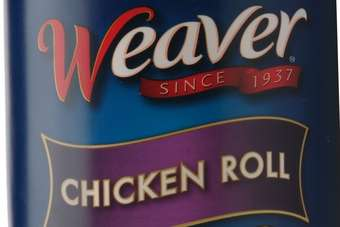 The Weaver Chicken Roll is available in Northeast markets and can be found at grocers deli counters