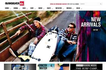 Quiksilver narrowed its loss in the first quarter