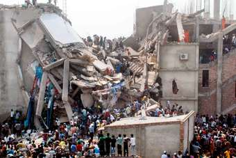 The Rana Plaza building collapse killed more than 1,100 people