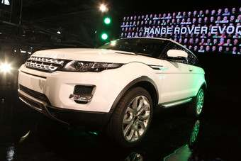 Halewood built Evoque Job One last July and has been flat-out on the new Range Rover ever since