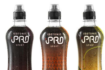 The iPro Sports Isotonic drink comes in three flavours