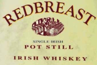 Pernod Ricards Redbreast 15 Year Old