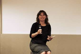 Shulman talked about her career and the rapidly changing fashion industry