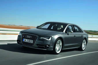 Audi says the S8 will charge to 62mph in just 4.2 seconds, while the top speed is electronically limited to 155mph