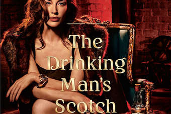 The ad was part of the Drinking Mans Scotch campaign for Dewars