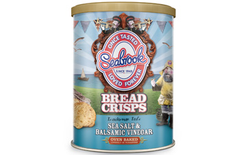 UK: Symingtons, Seabrook launch crisps made from bread