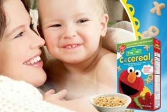 Post Sesame Street is a wholegrain oat-based cereal for toddlers