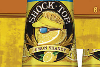 Click through to view Anheuser-Busch InBevs Shock Top Lemon Shandy