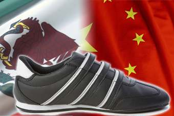 China supplies around half of the worlds shoes