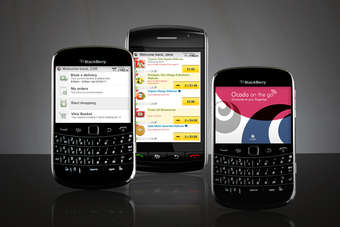 "The company said Blackberry is the ""logical progression"" for the business"