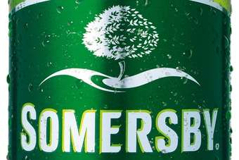 The new version of Somersby was first launched in the UK last year