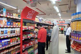Spar has entered the Middle East with its store in Abu Dhabi