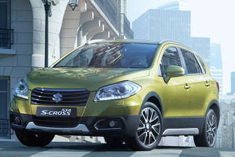 S-Cross pricing starts at CNY109,800 (US$18,087)