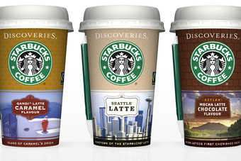 The Starbucks Discoveries chilled coffee range