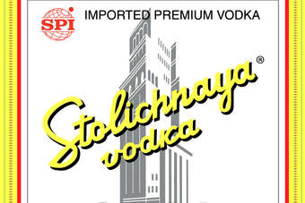 Click through to view the Stolichnaya glow-in-the-dark bottle