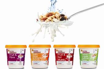 Mornflake has created Superfast as part of the convenient breakfast solutions range