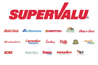 Supervalu sold 16 Shaws stores in February, as it continues to battle against the financial downturn