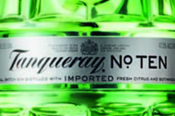 Click through to view the new bottle design for Tanqueray No. Ten