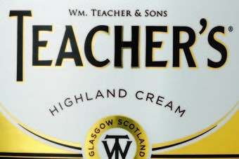 Beam Inc owns the Teachers blended Scotch whisky brand