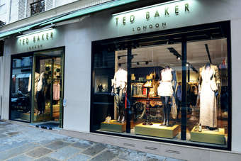 Ted Baker operates 362 stores and concessions worldwide