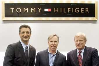Emanuel Chirico, Tommy Hilfiger, Fred Gehring strike multi-billion dollar deal (Photo: Business Wire)