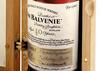 Click through to view William Grant & Sons The Balvenie 40 Year Old, Batch Two