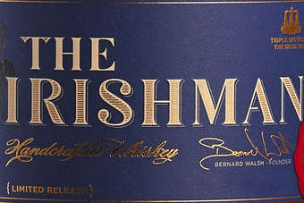 Click through to view Walsh Whiskeys The Irishman Cask Strength