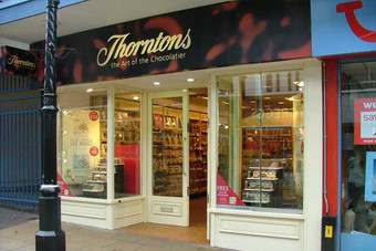 Like-for-like sales from Thorntons own stores increased but franchise sales  were down
