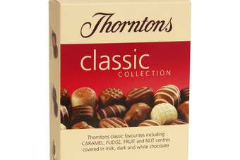 Thorntons saw own-store sales fall almost 4%