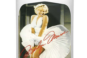 Click through to view Proximo Spirits Three Olives Marilyn Monroe Strawberry Vodka