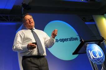 Tim Hurrell is planning aggressive growth for the Co-operative Group