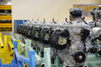 New engine plant replaces one built in 1978