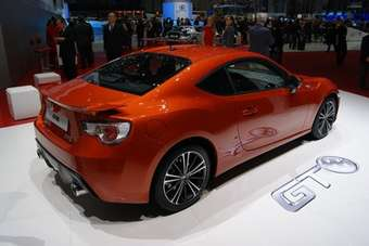 Toyota GT-86 made its European debut at the Geneva show this month