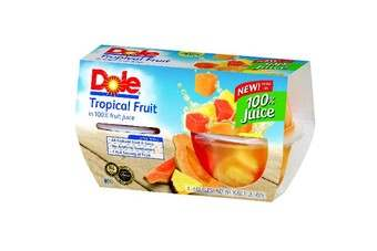 "US: Dole rolls-out ""all natural"" fruit bowls"