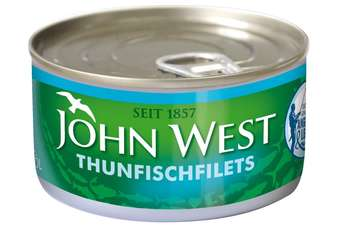 John West said it will enter the German market exclusively with the Pole and Line caught tuna