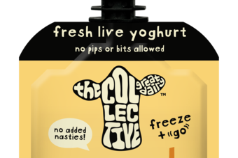 UK: The Collective launches in-pouch yoghurt option for kids