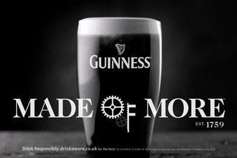 UK/IRELAND: Diageo unveils new Guinness campaign