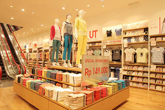 Uniqlos same store sales edged up by 1.1% in December
