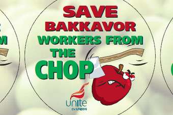 Bakkavor produce workers are protesting over job cuts