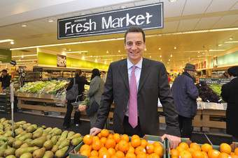 Morrisons is again focusing on fresh food to differentiate itself from rivals