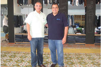 Fernando Capellan and Tony Rodriguez at Grupo M headquarters