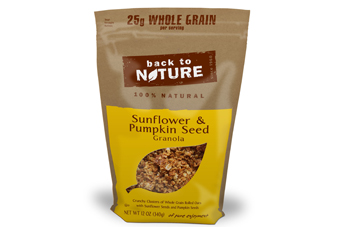 Back to Nature expands granola line up