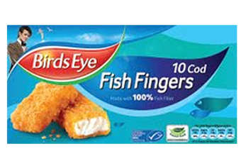 Doctor Who adorns the latest packaging for Birds Eye fish fingers in the UK