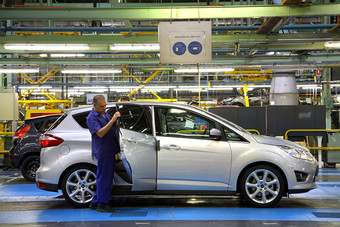 Ford C Max Is Made In Valencia Spain